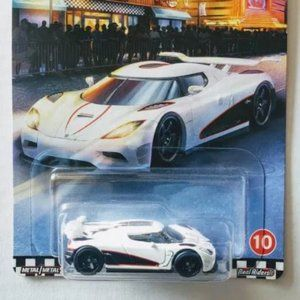 Hot Wheels White Agera